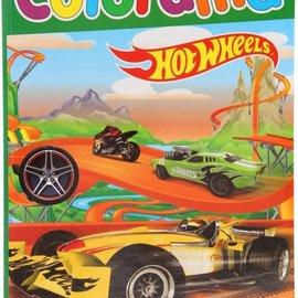 Kleurboek Hotwheels