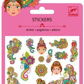 Djeco Djeco 9761 Mini stickers - Indische motieven