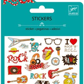 Djeco Djeco 9767 Mini stickers - Pop + Rock
