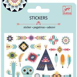 Djeco Djeco 9766 Mini stickers - Western stijl