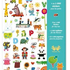 Djeco Djeco 8950 Stickers - 1000 stickers voor kleine kinderen