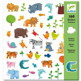 Djeco Djeco 8841 Stickers - Dieren