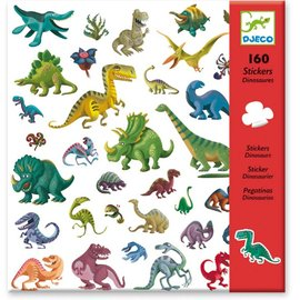 Djeco Djeco 8843 Stickers - Dinosaurussen