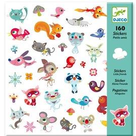Djeco Djeco 8842 Stickers - Kleine vriendjes