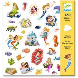 Djeco Djeco 8885 Stickers - Meerminnen