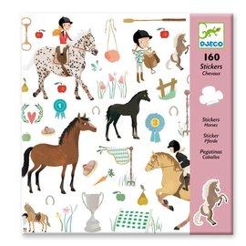 Djeco Djeco 8881 Stickers - Paarden