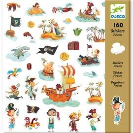 Djeco Djeco 8839 Stickers - Pirates