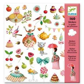 Djeco Djeco 8884 Stickers - Prinses Tea Party