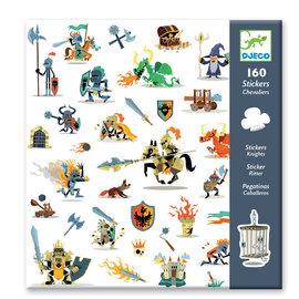 Djeco Djeco 8886 Stickers - Ridders