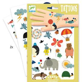 Djeco Djeco 9579 Tatoeages - Mooie kleine dingen