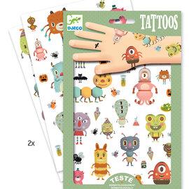 Djeco Djeco 9581 Tatouages - Monsters