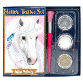 TopModel Miss Melody glitter-tatoeage-set