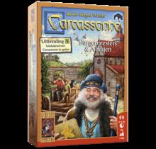 999 Games Carcassonne: Burgemeesters en Abdijen (uitbreiding 5)