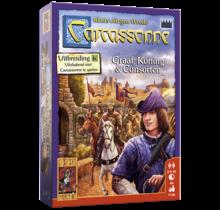 999 Games Carcassonne: Graaf, Koning & Consorten (uitbreiding 6)