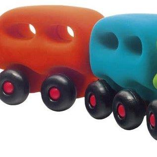 Rubbabu Rubbabu Trein met  wagonnetjes (20305)