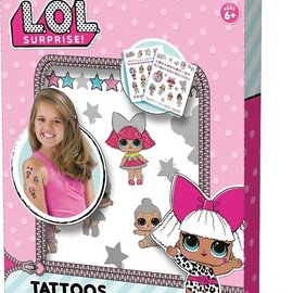 SES LOL verrassing - Tattoos Metallic SES