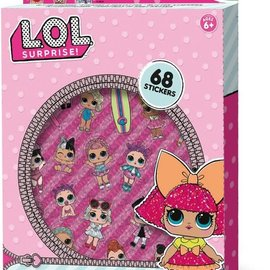 SES LOL Glitter stickers SES