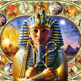 Bluebird puzzel Tutankhamun (1000 stukjes)
