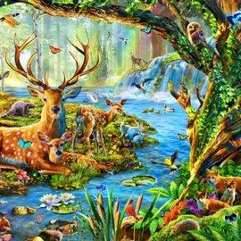 Bluebird puzzel Forest life (1500 stukjes)