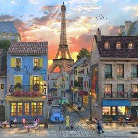 Bluebird Bluebird puzzel Streets of Paris (1000 stukjes)
