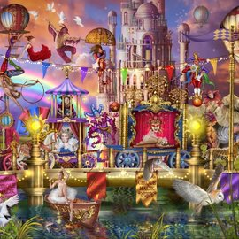 Bluebird puzzel Magic Circus Parade (1500 stukjes)