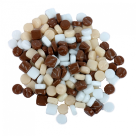 Hobbygroep Colourful Combi Mix Chocolade