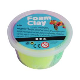 Foam Clay Foam klei 4 kleurenset. 80 gram totaal