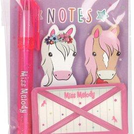 TopModel Miss Melody plakmemo¹s met mini-pen
