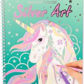 TopModel Fantasy Model Silver Art kleurboek