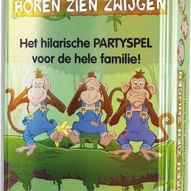 University Games Horen Zien Zwijgen - Reisspel