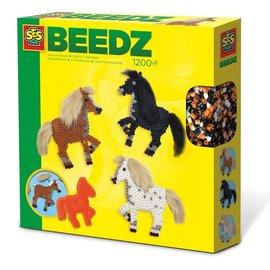 SES SES BEEDZ Strijkkralen paarden met manen