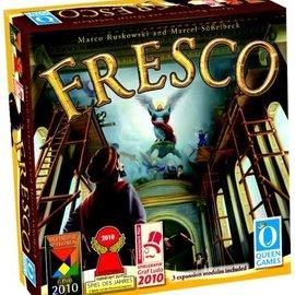 Queen games Fresco (inclusief 3 uitbreidingen) (Engels)