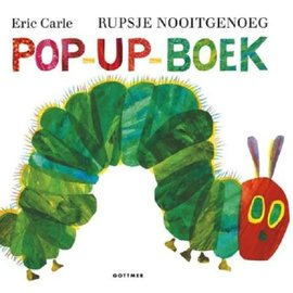 Boek Rupsje Nooitgenoeg Pop-Up boek