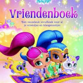 Boek Shimmer & Shine - vriendenboek