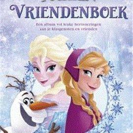 Boek Disney Frozen - vriendenboek