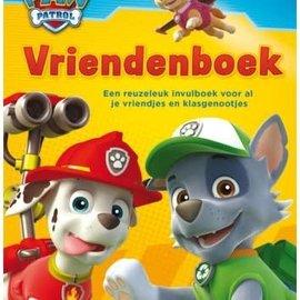 Boek Paw Patrol - vriendenboek