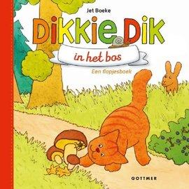 Gottmer Dikkie Dik in het bos - flapjesboek