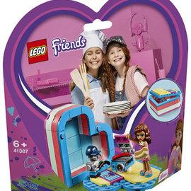 Lego Lego 41387 Olivia's Hartvormige doos