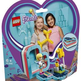 Lego Lego 41386 Stephanie's hartvormige doos