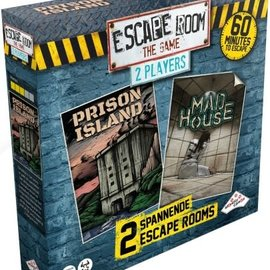 Identity Games Escape room the game 2 players - Prison Island + Mad Hpuse