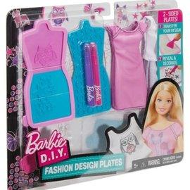 Barbie Barbie D.I.Y Fashion Design Plates