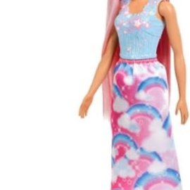Barbie Barbie Haarpop Dreamtopia met borstel