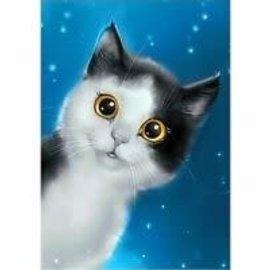 Diamond Painting Diamond Painting - Curiosity Cat