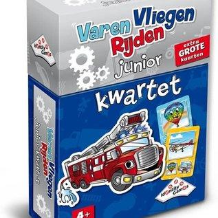 Identity Games Kwartet junior - Varen Vliegen Rijden