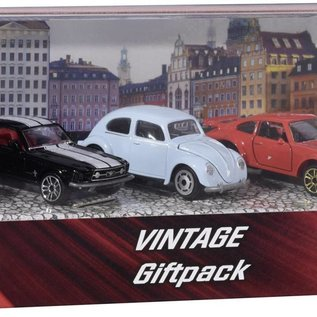 Majorette Vintage Giftpack Auto's , 5st