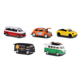 Majorette Majorette The Originals Volkswagen Auto's, 5st