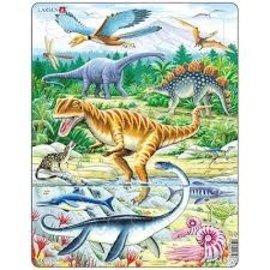 larsen Puzzel maxi dieren dinosaurus