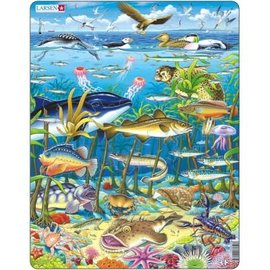 Larsen Larsen puzzel maxi dieren zeedieren