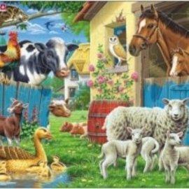 Larsen Larsen puzzel Maxi Dieren Boerderijdieren