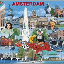 larsen Puzzel Maxi Amsterdam Toeristisch